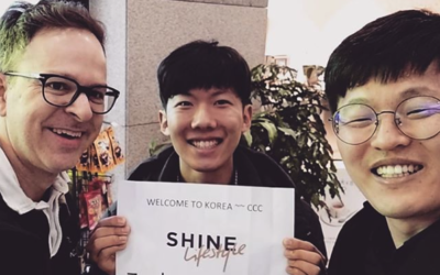 Just startet SHINE in Korea